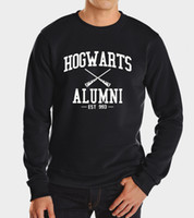 american apparel sweatshirts - Autumn Harry Potter Hogwarts Inspired Students Magic Hoodies Harajuku Tracksuit For Men American Apparel Sweatshirt high quality