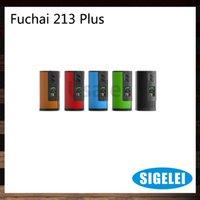 battery overheat - Sigelei Fuchai W Plus TC Box Mod W OLED Display Screen Sliding Battery Door Cover Overheating Prevention Original