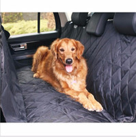 bench seat cover black - black D Oxford Car Pet Seat Covers Waterproof Back Bench Seat Car Interior Travel Accessories Car Seat Covers Mat for Pet Dog