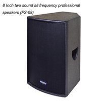 Wholesale 120W quot two sound all frequency professional speakers Pro Audio Factory dj equipment disco sound system kalaoke Speaker