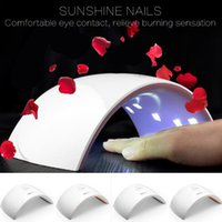 Wholesale UVLED SUN9c SUN9s W Professional UV LED Lamp Nail Dryer Polish Machine for Curing Nail Gel Art Tool