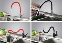 Wholesale Stainless steel hot and cold water rotate bathroom faucet kitchen faucet