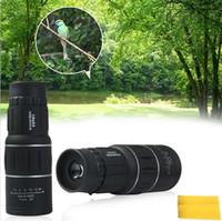 Precio de Lente de enfoque dual-El envío libre 16 x52 se dobla los objetivos binarios de la lente de la lente óptica del zoom de la lente óptica del telescopio monocular multi que enfocan la visión óptica dual de la noche del día de la lente del foco