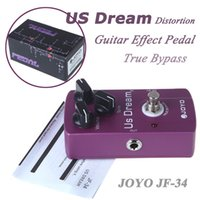 Wholesale JOYO JF Amp Guitar Audio True Bypass US DREAM Drive Tube Amplifier Effect Pedal Distortion Effect