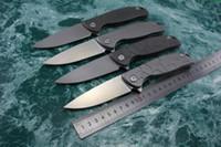 alloy dc - DC Shirogorov F95 series Russian folding knife ball bearing washer system Cr18mov stonewash satin blade TC4 Titanium alloy handle