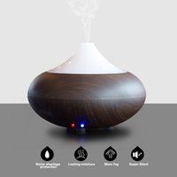anion light - Portable Essential Oil Aroma Humidifier Diffuser LED Night Light Ultrasonic Cool Mist Fresh Air Spa Aromatherapy Anion Purifier