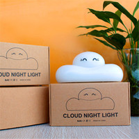 baby lamp with night light - Cute Cloud Shape Touch Sensor LED Night Light USB Rechargeable Bedside Lamp Baby Room Outdoor Living Room luminaria with Retail Package