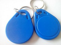 Wholesale The cheaest price make ISO11785 Tk4100 EM4100 kHz Imprinted Key Labels Tags RFID Access Control Label Tags