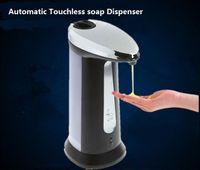 auto soap foam dispenser - Sensor Soap Dispenser Stainless Steel Automatic Hands Free Wash Machine Portable Motion Activated Touchless Auto soap Dispenser MOQ