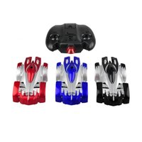 Wholesale Brand New Mini Wall Climbing RC Racer Remote Control Zero Gravity Floor Racing Car Model Toy Kids Gift frozen