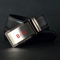 Wholesale 2016 Brand Bos Belt Mens Belt Luxury Belts Genuine Leather belts Jeans Belt for Men Automatic buckle Strap