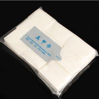 Wholesale 900Pcs Pack Nail Sticker Decal Nail Art Tips Manicure Polish Remover Clean Wipes Cotton Lint Pads Paper Nail Wipes