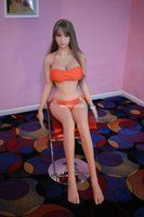 Wholesale cm cm cm cm cm Top Quality Real Silicone Sex Doll With Skeleton Japanes Love Doll Men Masturbator Sex Products