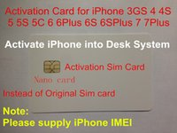 activate sim card iphone - Customization Activating SIM Card for iPhone G GS S s c Plus S instead of original iPhone activation sim card