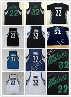 badminton games - Top Quality New arrival Men Karl Anthony Towns Jerseys Christmas Game jerseys Uniforms Andrew Wiggins Shirt Color Blue White Black