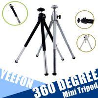 Wholesale Flexible Mini Tripod For Cell Phone Smartphone Pocket Camera Table Tripod Degree Aluminum Alloy Tripod Leg