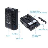 Cheap Full HD 1080P Detachable Travel Multi-Socket AC Adapter Hidden Spy Camera Universal Plug Charger Security Camera