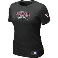 baseball t shirts - Cheap Texans Rangers Women Baseball T Shirt Short Sleeve Practice T shirt Cotton Tees Shirts Colors