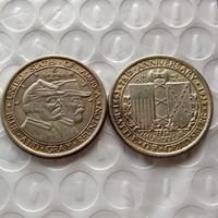 battle art - 1936 Battle of Gettysburg Anniversary Commemorative Half Dollars Copy Coins