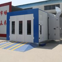 Wholesale Quantum Radiator Type Car Furniture Workpieces Spray Booth For Water Based Paint