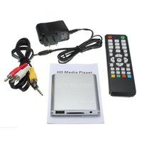 best hdtv prices - Best Price Top Selling Full HD P Mini HDD Multi Media Player POUR HDTV MKV H RMVB HDMI With HOST USB SD Card Reader