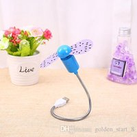 Wholesale 50 New hot selling USB Mini Flexible Time Fan with Cool Gadget Store