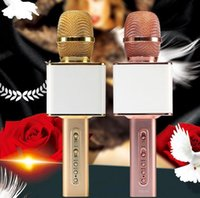 Wholesale Magic microphone speaker YS10 factory offer nice sounds Karaoke SING player handled Microphone record for mobile phones
