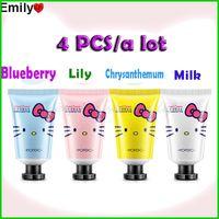 Wholesale New Arrive Skin Defender Set Include Hand Cream Hand Mask Exfoliator Gel Whitening Hand Cream Pieces Flavors