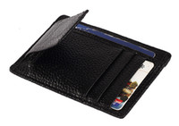 Wholesale Mens Leather Wallet Money Clip Credit Card ID Holder Front Pocket Thin Slim NEW