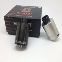 Wholesale Digiflavor Pharaoh Dripper Tank ml Capacity mm diameter Rip Project Spring Loaded Clamps Triple Bottom Airflow Holes Direct t E Cigarette