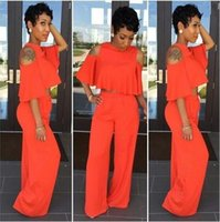 Wholesale Sexy Fashion Twinset solid color On behalf of a set of two Female suits