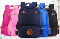 Wholesale New reflective strip school bag sizes for kids in difference cool shool bag for boys