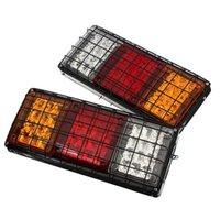 12V Rear Stop Luces LED Luces Indicador de la cola Remolque Caravana Camioneta Van UTE
