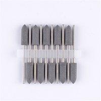 Wholesale 10Pcs SILICONE Rubber Polishers mm Diamond Polishing HP Burs Crude Black mm New Arrival Brand New