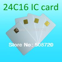 access control atmel smart card - High Quality ATMEL c16 ISO Contact Smart Card Phone IC Card Medical Insurance Card