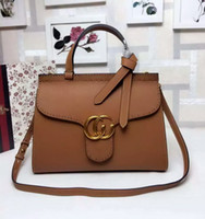 Wholesale Newest Style cm Famous Brands Women Handbags High Quality Genuine Leather Pattern Chain Shoulder Bags Flap Messenger Bags