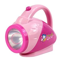 Wholesale Mini Simulation electric torch toy for kid lovely classic electric furniture toy the best gift for children Pink