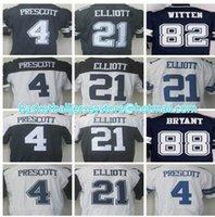 Wholesale Men s stitched jerseys Elite Prescott Elliott Romo Witten jersey