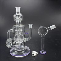 Wholesale Purple glass pipe drilling type glass pipe high cm weight g free delivery of quality assurance
