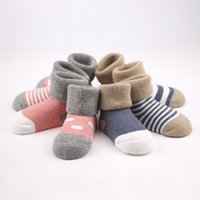 Wholesale 0 Years Pairs Baby Girl Boy Newborn Toddler Infant Winter Warm Boots Toddler Infant Soft Socks Booties Shoes