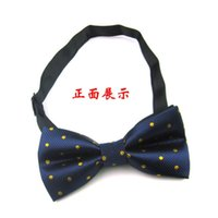 ascot tie pattern - New Men Fashion Accessories Flora Dot Pattern Jacquard Woven Classic Pre tied Casual Bow Tie LH9