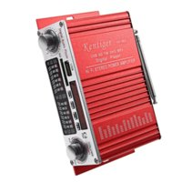 Wholesale Kentiger HY Mini Portable HiFi Stereo Power Digital Amplifier with FM IR Control FM MP3 USB Playback with Four DSP