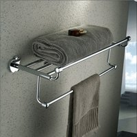 Chrome alice bath - full copper towel rack bathroom towel rack The bathroom sanitary ware series of suits Apple base Alice head paragraph