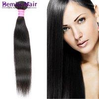 best straighten hair - Virgin Brazilian Remy Human Hair Dyeable Peruvian Straight Brazilian Hair Weave Bundles Best A Unprocessed Straight Human Hair Extensions