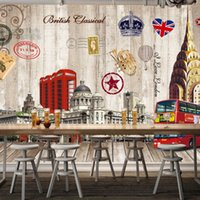 architectural styles - D Stereo Custom European American Architectural Background Wall Decoration Wallpaper High Quality Living Room Mural