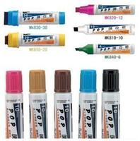 Wholesale 12pcs Bao gram POP jumbo markers line width mm hand color oily mark jumbo poster advertising pen