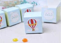 airs candy boxes - Newest Pattern Hot Air Balloon Wedding Favor Baby Shower Party Gift Wedding Candy Box