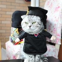 Wholesale Pet Costume Cat Costume Funny Cat Clothes Sexy Nurse Policeman Cowboy Sailor Uniform Hat Business Attire Faster Shipping