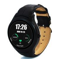 Stocks américains! NO.1 D5 Smart Watch IPS double cœur de synchronisation Bluetooth Wifi GPS podomètre Heart Monitor 512 Mo de RAM 4 Go Smartwatch pour Android
