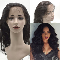 baby body hair - 360 Lace Frontal Closure A Brazilian Human Hair Body Wave Pre Plucked Full Lace Frontal with Baby Hair
